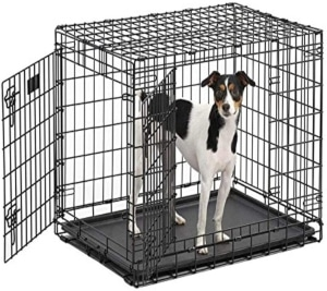 Ultima Pro (professional Series & Most Durable Midwest Dog Crate) Extra Strong Double Door Folding M (1)
