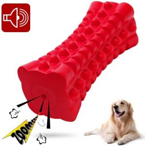 Vanfine Dog Squeaky Toys Almost Indestructible Tough Durable Dog Toys Dog Chew Toys For Large Dogs A