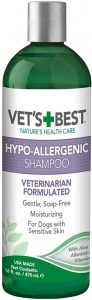 Vet's Best Hypo Allergenic Shampoo For Dogs Dog Shampoo For Sensitive Skin Relieves Discomfort F