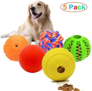 Volacopets 5 Different Functions Interactive Dog Toys,dog Puzzle Toys,iq Treat Ball For Small Medium