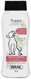 Wahl Gentle Puppy Shampoo For Pets – Cornflower & Aloe With 100% Natural Ingredients For Grooming D