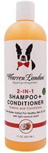 Warren London 2in1 Pet Shampoo Plus Conditioner With Vitamin E & Shea Butter 17oz & 1 Gallon Sizes
