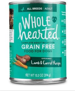 Wholehearted Grain Free Adult Wet Dog Food