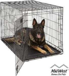 Xl Dog Crate Midwest Life Stages Folding Metal Dog Crate Divider Panel, Floor Protecting Feet, L