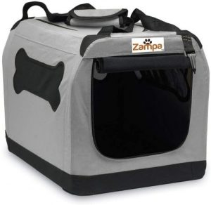 Zampa Pet Portable Crate – Great For Travel, Home And Outdoor – For Dog's, Cat's And Puppies – Come