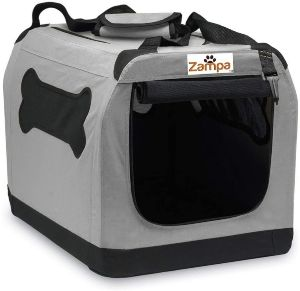 Zampa Pet Portable Crate – Great For Travel, Home And Outdoor – For Dog's, Cat's And Puppies – Comes (1)