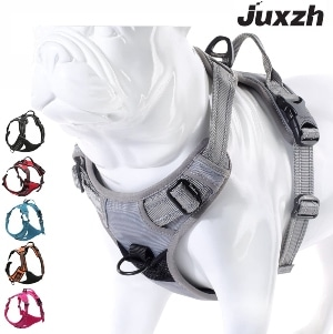 Juxzh Truelove Soft Front Dog Harness .best Reflective No Pull Harness With Handle And 2 Leash Attac