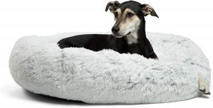 Best Friends By Sheri Shag Donut Bolster Bed