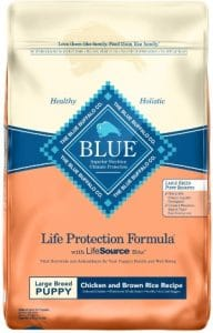 Blue Buffalo Life Protection Formula Large Breed Puppy Dog Food – Natural Dry Dog Food For Puppies –