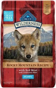 Blue Buffalo Wilderness Rocky Mountain Recipe High Protein Grain Free, Natural Puppy Dry Dog Food