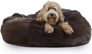 Furhaven Plush Ball Pillow Bed