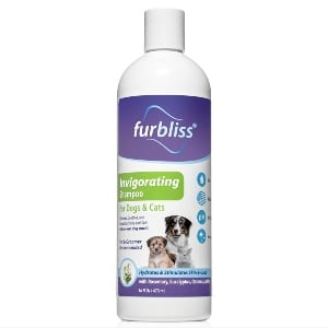 Furbliss Dog Shampoo With Essential Oils, Leaves No Wet Dog Smell, Cleans And Deodorizers Coat, Tear