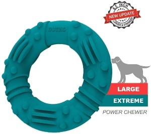 Gucho Updated Ultra Durable Dog Chew Toys For Aggressive Chewers Lifetime Replacement Guarantee