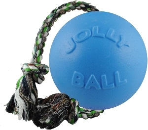 Jolly Pets Romp N Roll Rope And Ball Dog Toy (1)