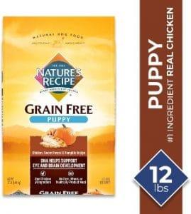Nature's Recipe Grain Free Puppy Dry Dog Food Chicken, Sweet Potato & Pumpkin (1)