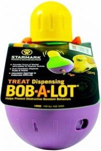 Starmark Treat Dispensing Bob A Lot Dog Toy (1)
