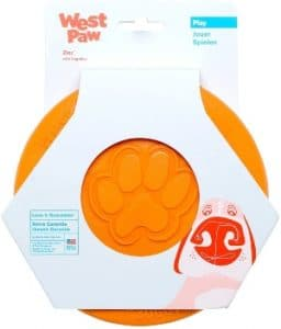 West Paw Zogoflex Zisc Dog Frisbee, High Flying Aerodynamic Disc For Dogs Puppy – Lightweight, Float