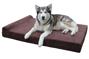 Big Barker 7 Headrest Orthopedic Pillow Dog Bed With Removable Cover