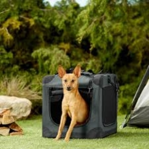 Frisco 3 Door Collapsible Soft Sided Dog Crate