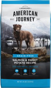 American Journey Salmon & Sweet Potato Recipe Grain Free Large Breed Puppy Dry Dog Food