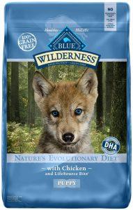 Blue Buffalo Wilderness Puppy Chicken Recipe Grain Free Dry Dog Food