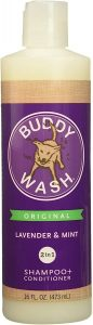 Buddy Wash Original Lavender And Mint Dog Shampoo And Conditioner