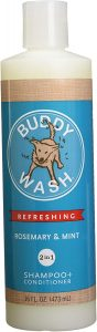 Buddy Wash Refreshing Rosemary And Mint Dog Shampoo And Conditioner
