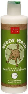 Buddy Wash Relaxing Green Tea And Bergamot Dog Shampoo And Conditioner