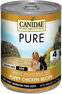 Canidae Grain Free Pure Foundations Puppy Formula With Chicken Canned Dog Food
