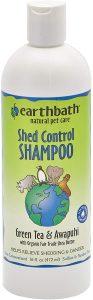 Earthbath Shed Control Green Tea & Awapuhi Dog & Cat Shampoo