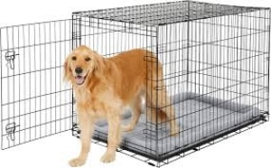 Frisco Fold And Carry Single Door Collapsible Wire Crate