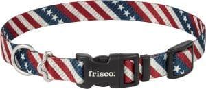 Frisco Patterned American Flag Dog Collar
