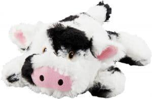 Frisco Plush Squeaking Cow Dog Toy