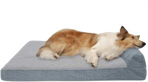 Furhaven Chaise Lounge Orthopedic Cat & Dog Bed
