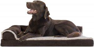 Furhaven Plush & Seude Orthopedic Dog Bed