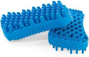 Furbliss Multi Use Deshedding And Massaging Short Hair Dog Brush