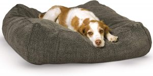 K&h Pet Products Cuddle Cube Pillow Cat And Dog Bed