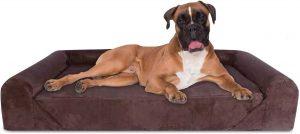 Kopeks Sofa Lounge Orthopedic Bolster Dog Bed