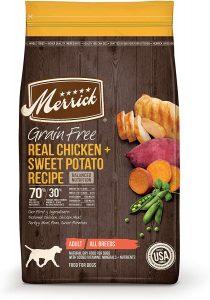 Merrick Grain Free Chicken + Sweet Recipe Dry Dog Food