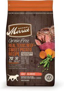 Merrick Grain Free Texas Beef & Sweet Potato Recipe Dry Dog Food