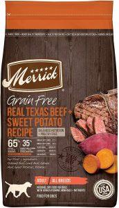 Merrick Grain Free Real Texas Beef & Sweet Potato Recipe Dry Dog Food
