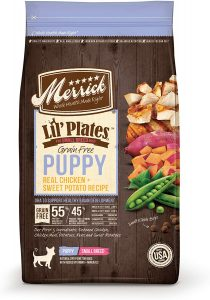 Merrick Lil' Plates Real Chicken & Sweet Potato Puppy Food