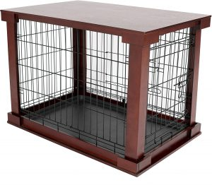 Merry Products 2 In 1 Furniture Style Dog Crate