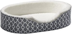 Midwest Quiettime Defender Orthopedic Bolster Dog Bed