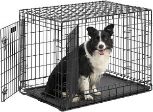Midwest Ultima Pro Double Door Collapsible Wire Dog Crate