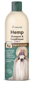 Naturvet Hemp 2 In 1 Dog Shampoo