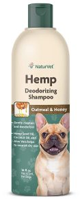 Naturvet Hemp Deodorizing Dog Shampoo With Oatmeal & Honey