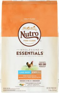 Nutro Wholesome Essentials Large Breed Puppy Farm Raised Chicken, Brown Rice And Sweet Potatoe Dry Dog Food