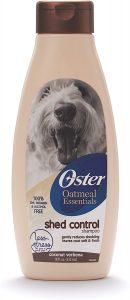 Oster Oatmeal Essentials Shed Control Dog Shampoo