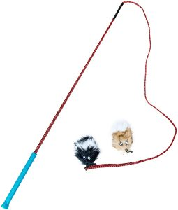 Outward Hound Tail Teaser With Refill Dog & Cat Teaser Toy